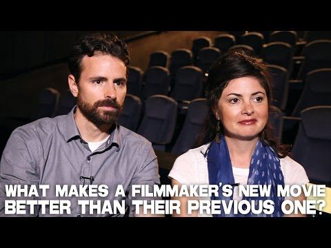 What Makes A Filmmaker's New Movie Better Than Their Previous One? by Jamin & Kiowa Winans