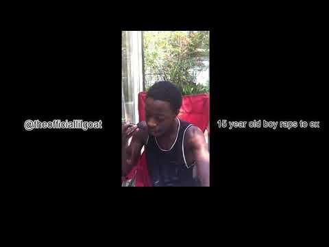 15 Year Old Boy Raps To Ex [Legendado]
