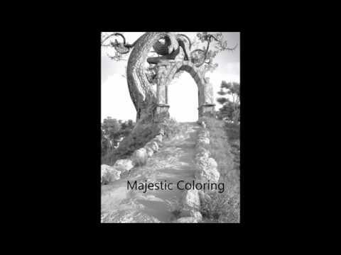 Fantasy World Vol 2 Grayscale Coloring Book