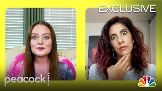 A Day of Video Chats with Lauren Ash and Stephanie Beatriz | Peacock At-Home Variety Show