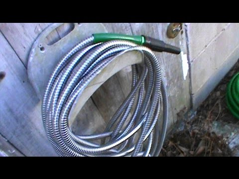 Mr. Bucky's Metal Garden Hose