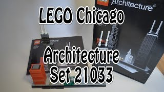 LEGO Chicago Skyline (Review Set 21033 Architecture) deutsch 4K