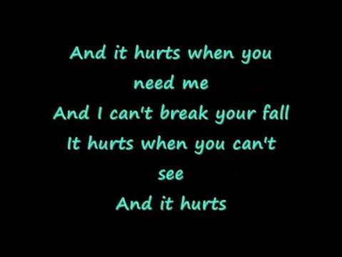 Thousand Foot Krutch  Hurt Lyrics