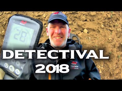 detectival 2018 | Metal detecting UK Fun and Games 🙉