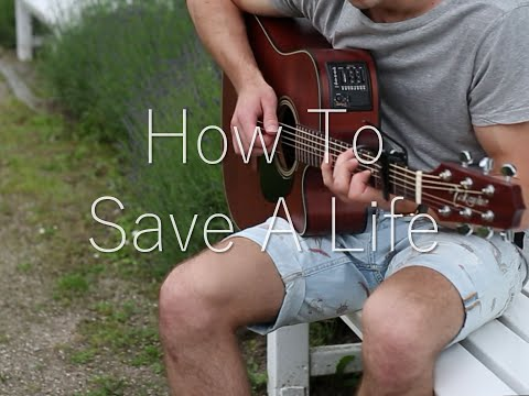 (The Fray) How To Save A Life - Fingerstyle Guitar Cover (with TABS)