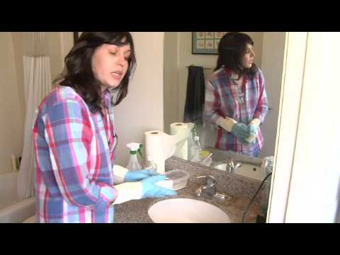 How to Clean Bathroom Faucets
