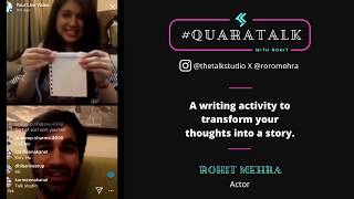 #QuaraTalk Masterclass: Art of Storytelling