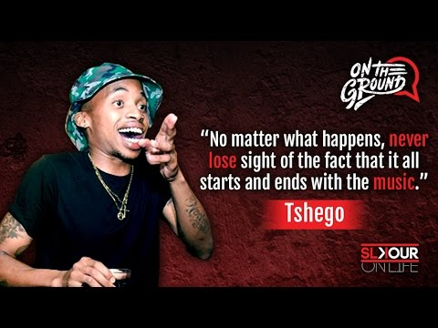 On The Ground: Tshego On Awards x Never Forgetting The Music