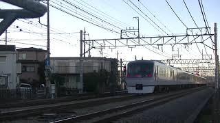 西武鉄道10112F 南入曽をゆっくり通過