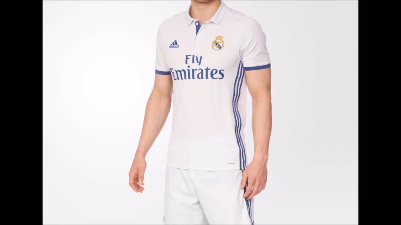 Las 10 mejores camisetas del Real Madrid (1ra Equipación) - YouTube 301c4945f584b