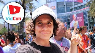 SNEAKING INTO VIDCON BEFORE IT OPENS! (2018)