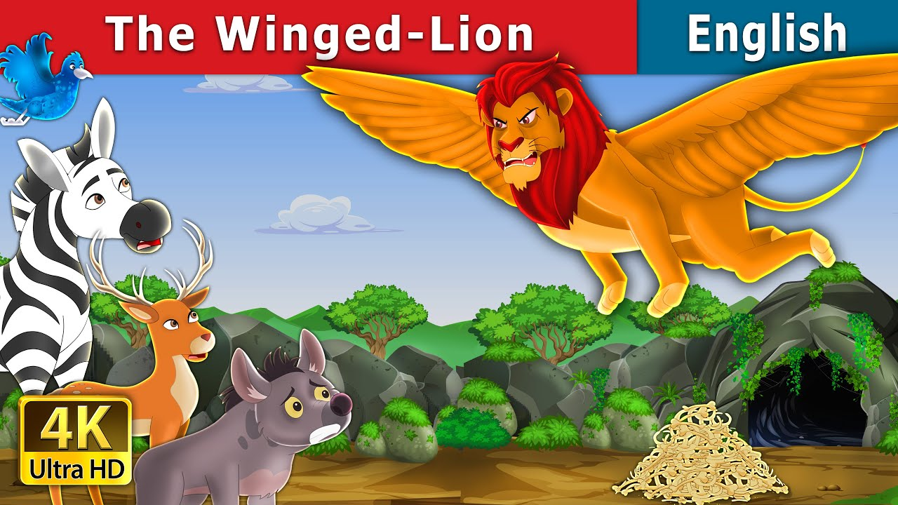 The Winged Lion Story | Stories for Teenagers | English Fairy Tales