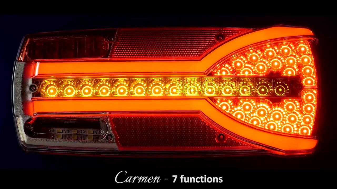 ledhandel24nl horpol led achterlicht set dynamisch neon
