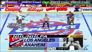 NHL OPEN ICE CHALLENGE - 2 on 2 - Los Angeles Kings vs. Mighty Ducks of Anaheim