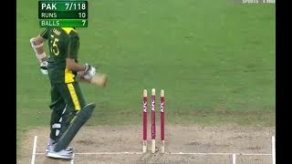 WTF please explain this idiot cricket Pakistan, what is the thinking behind this tutti shot?
