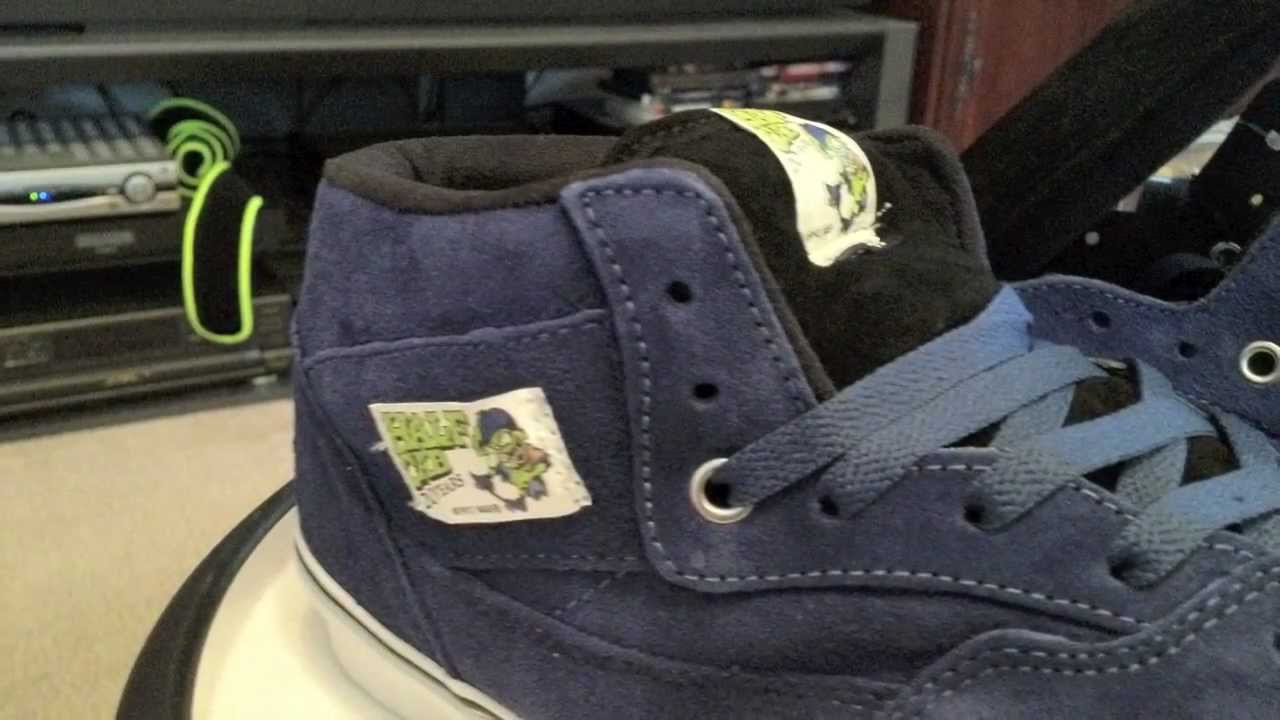 f316d8fee5f1ba Vans Half Cab Pro 20th Anniversary - Dirty Donny Gillies - Blue Suede    Black colorway...  OTWS