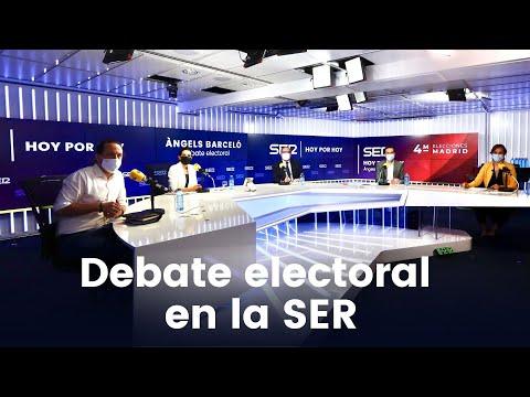 🔴 Debate electoral de La SER completo: Iglesias se va y Monasterio dinamita el debate