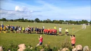 Muhu Viktor Cup Jalgpallis 2016 Avatseremoonia