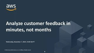 Analyze Customer Feedback In Minutes, Not Months