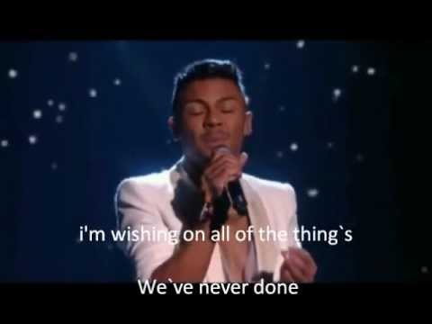 X Factor Finalists 2011, Wishing on a star with Lyrics