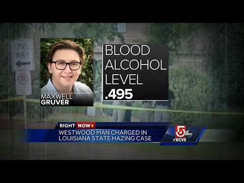 Westwood man charged in LSU hazing case