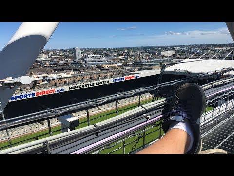 CLIMBING ST JAMES PARK! NEWCASTLE UNITED STADIUM!