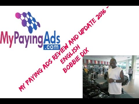 My Paying Ads 2016 Review & Update English Bobbie Dix