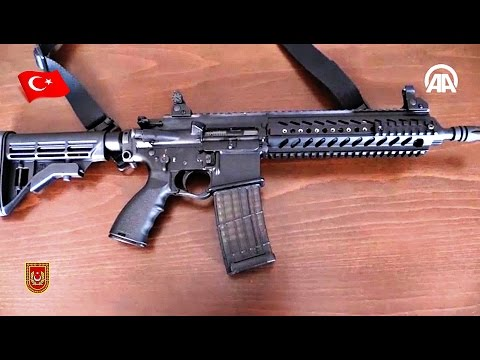 MPT-55 NEW INFANTRY RIFLE (Carbine) MKE TURKEY PRODUCTION - TURKISH ARMY WEAPONS