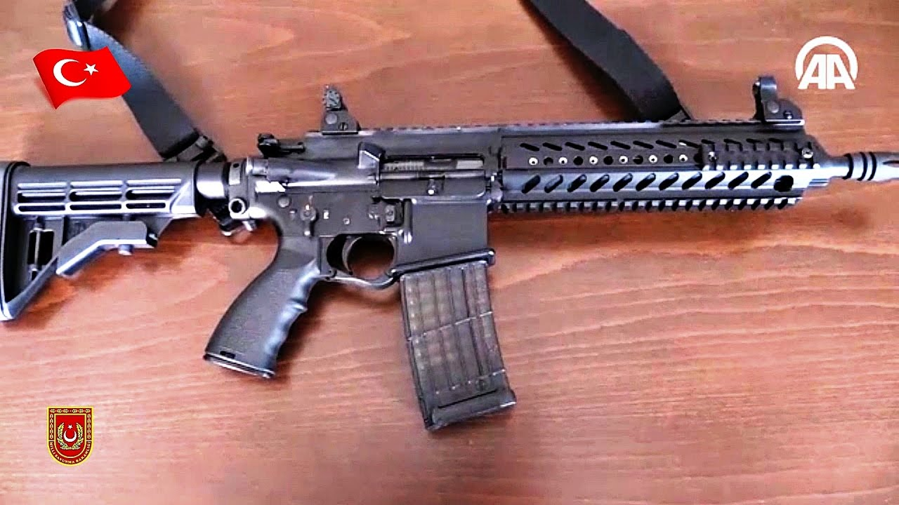 MPT-55 NEW INFANTRY RIFLE (Carbine) MKE TURKEY PRODUCTION ... Army Special Forces Weapons