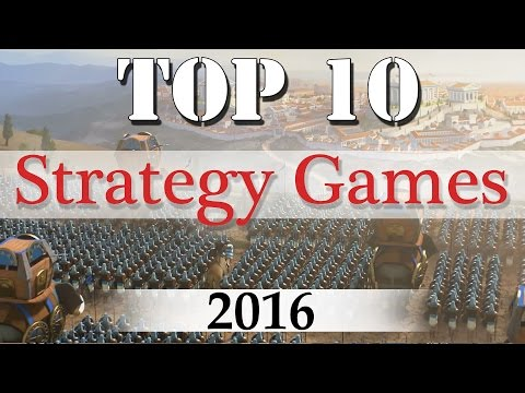 Top 10 Best Strategy Games of 2016