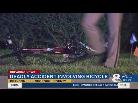 Deadly bicycle crash affecting traffic on Brandon Boulevard thumbnail