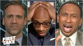 First Take gets into a heated debate over Max's Isiah Thomas vs. John Stockton argument