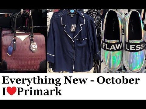 Everything new at Primark October 2016 | IlovePrimark