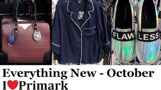 Everything new at Primark October 2016 | IlovePrimark
