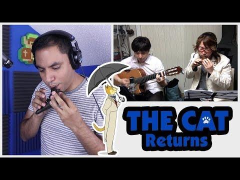 The Cat Returns - Kaze Ni Naru - Ocarina/Guitar Cover || David Erick Ramos Ft. Milt & Katokitikiti