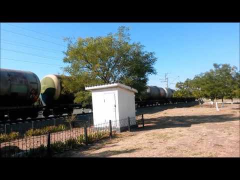 Uzbekistan freight train