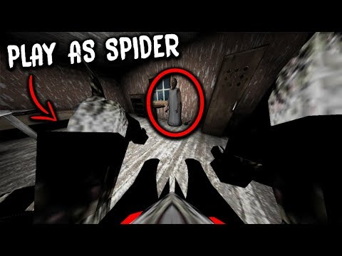 Playing as Granny's Pet Spider and KILLING Granny! (Granny Horror Game Spider Mode)
