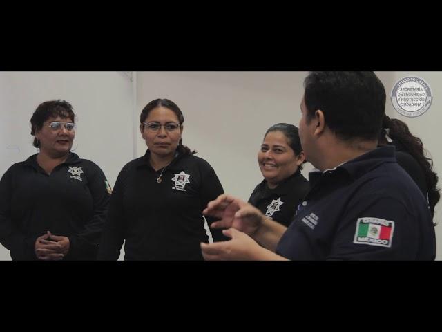 Capacita SSyPC a instructores de la Policía de Tránsito Municipal de Tuxtla Gutiérrez