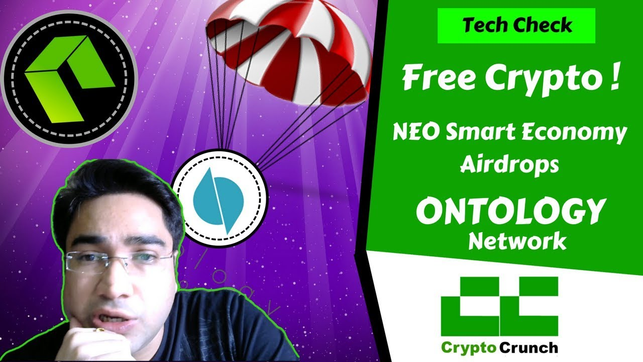 Free Cryptocurrency - Ontology Airdrop on NEO Blockchain