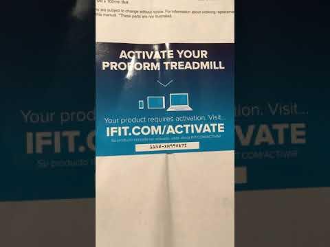 Proform CST 505 Treadmill ifit bypass