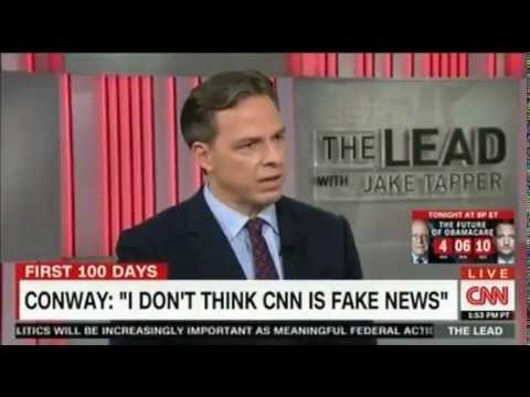 Who won? Kellyanne Conway battles with CNN's Jake Tapper  Panel discussion
