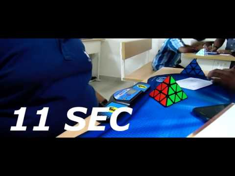 Rubiks Cube Cubeing Atmosphere Competation MOVIE