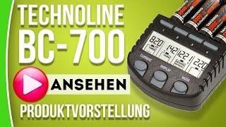 Technoline BC 700 - Akkus schonend aufladen - caphotos.de