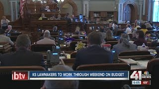 Kansas lawmakers divided on state's budget