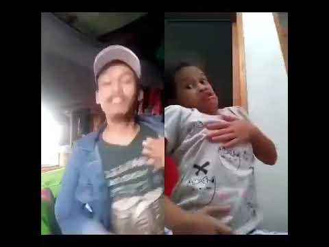 Vidio viral anak kecil nyanyi sampai ke jantungan #vidio lucu