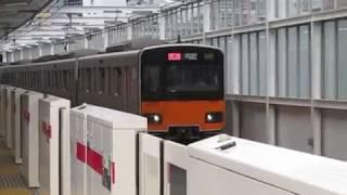 東武50070系51076F東横特急元住吉駅高速通過!