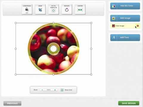 Disc Makers - How To Use Our Online Designer - Using Images