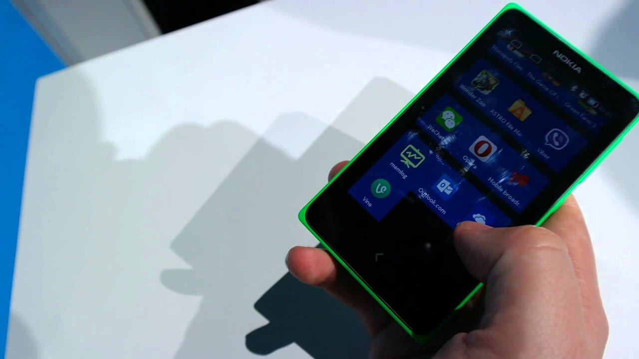 Hands on with the Nokia X