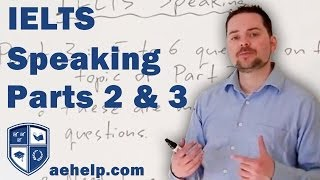 IELTS Speaking Section Introduction and Example Part 2 & 3