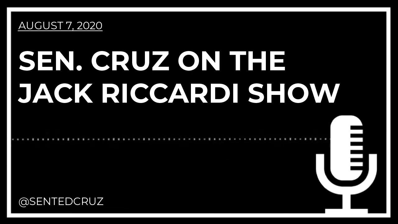 Cruz on the Jack Riccardi Show Blasts Dems for Refusing to Condemn Antifa